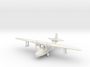 Sikorsky S-43 1/350 scale with u/c down in White Natural Versatile Plastic