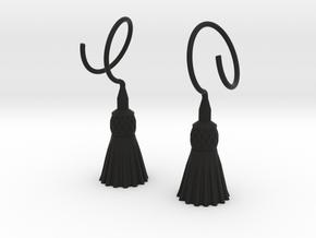 Tassels in Black Premium Versatile Plastic