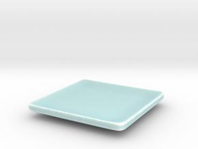 Simple elegant designer ashtray in Gloss Celadon Green Porcelain