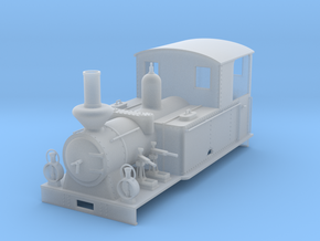 "0m BLJ loco #9 ""Tallås"" in Smooth Fine Detail Plastic: 1:45"
