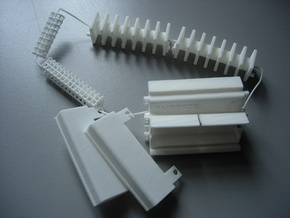 HV Coils parts set in White Strong & Flexible