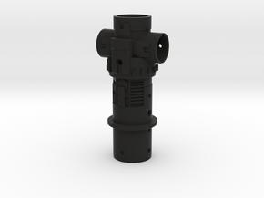KRCNC2 Lightsaber Emiter core in Black Natural Versatile Plastic