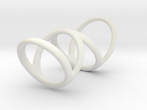 Ring for Bob L1 7-8 L2 1 3-8 D1 6 1-4 D2 6 3-4 D3  in White Premium Strong & Flexible