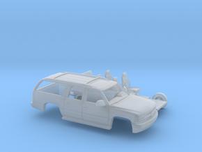 1/87 2000-06 Chevrolet Suburban Kit in Smooth Fine Detail Plastic