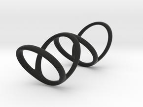 Ring for Bob L1 1 1-4 L2 1 3-4 D1 8 D2 9 3-4 D3 10 in Black Premium Strong & Flexible