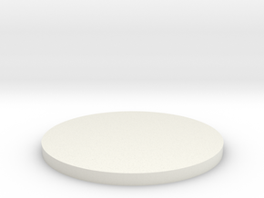 AT-AT Canister Bottom in White Natural Versatile Plastic