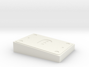 AT-AT Back Box Solid in White Natural Versatile Plastic
