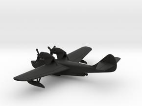 Douglas YOA-5/YB-11 in Black Natural Versatile Plastic: 1:350