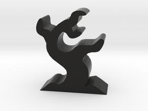 Game Piece, Dead Tree in Black Natural Versatile Plastic