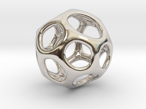 Gaia-18 (from $18.90) in Rhodium Plated Brass