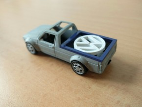 vw caddy hotwheels in Smoothest Fine Detail Plastic