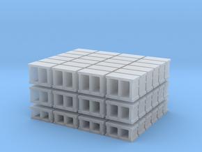 1-72_cinderblock set in Smooth Fine Detail Plastic