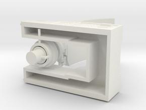 1:144 Counter Battery Radar in White Strong & Flexible: 1:144