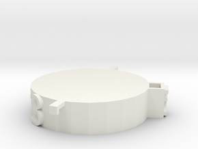 NPC Mini Base 3 in White Natural Versatile Plastic