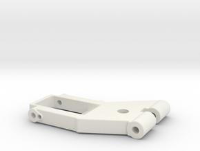 Arm2-7mmVERSION2 in White Natural Versatile Plastic