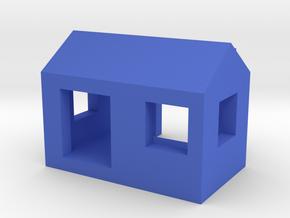 Computer Camera House in Blue Processed Versatile Plastic