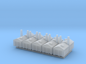 Small Factory in Smooth Fine Detail Plastic