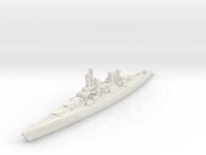 Lexington Battlecruiser Modernized 1/1800 in White Natural Versatile Plastic
