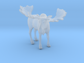 Printle Thing Moose - 1/120 - wob in Smooth Fine Detail Plastic