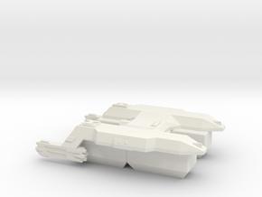 3125 Scale LDR Transport Tug CVN in White Natural Versatile Plastic