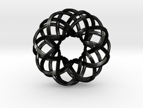 Rosa-8c3x (from $15) in Matte Black Steel