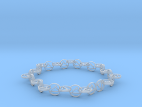 yoga jewelry necklace in Smooth Fine Detail Plastic