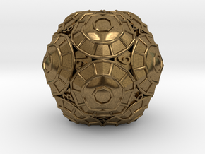 D20 Balanced - Shield in Natural Bronze