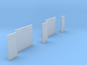 LM75 NSR Notice boards in Smooth Fine Detail Plastic