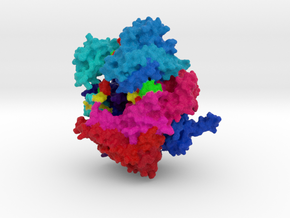 Cas13-crRNA Binary Complex in Full Color Sandstone