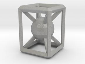 Jailed sphere in Aluminum