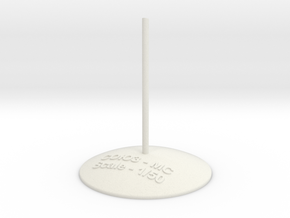 Soyuz stand -1.50 in White Natural Versatile Plastic