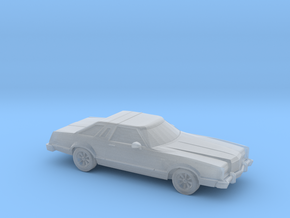 1/87 1977 Ford Thunderbird in Smooth Fine Detail Plastic