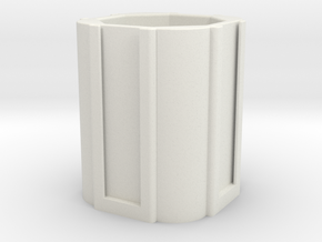 Survivor office holder for office and nespresso in White Natural Versatile Plastic