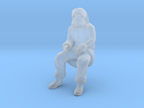 Santa Claus Sitting in Smoothest Fine Detail Plastic: 1:87 - HO