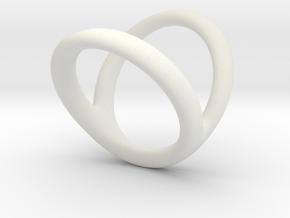 Ring 4 for fergacookie D1 2 D2 3 1-2 Len 18 in White Premium Strong & Flexible