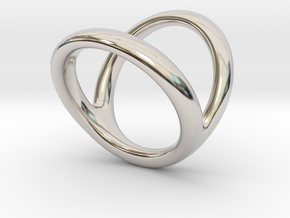 Ring 4 for fergacookie D1 2 D2 3 1-2 Len 18 in Rhodium Plated Brass