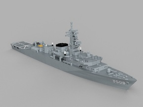 1/1800 Training ship JS Kashima in Frosted Ultra Detail