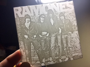 Ramones Lithophane in White Natural Versatile Plastic