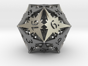 D20 Balanced - Starlight in Natural Silver