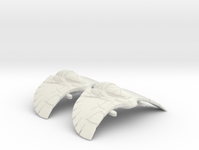 Goa'uld Armored Flight: 1/270 scale in White Natural Versatile Plastic
