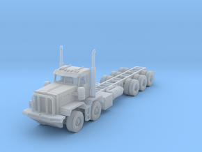 KW c500 twin steer and tri axle 1/87 in Frosted Ultra Detail