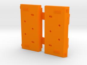 AT-ACT Cargo Pod False Sides in Orange Processed Versatile Plastic