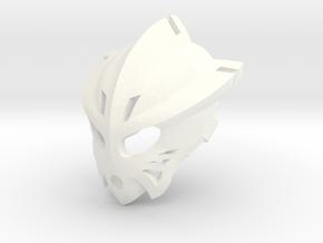 [G2] Eltanin's Kanohi Pakari in White Processed Versatile Plastic