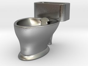 """""""Loo"""" coffee cup in Natural Silver"""