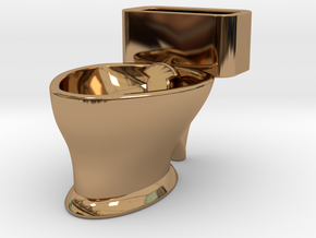 """Loo"" coffee cup in Polished Brass"