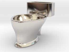 """Loo"" coffee cup in Platinum"