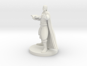 Half Elf Magic Caster in White Natural Versatile Plastic