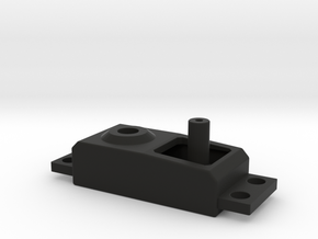 Dummy Servo V2 in Black Natural Versatile Plastic