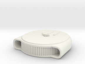 1/24 Scale Chestnut Air Cleaner Exposed in White Strong & Flexible