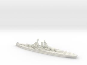 USS New Mexico 1/600 in White Natural Versatile Plastic